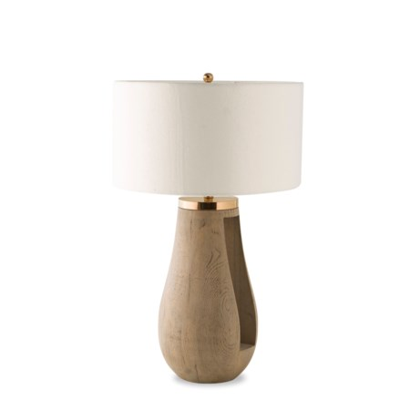 Gray Table Lamp / 120v US