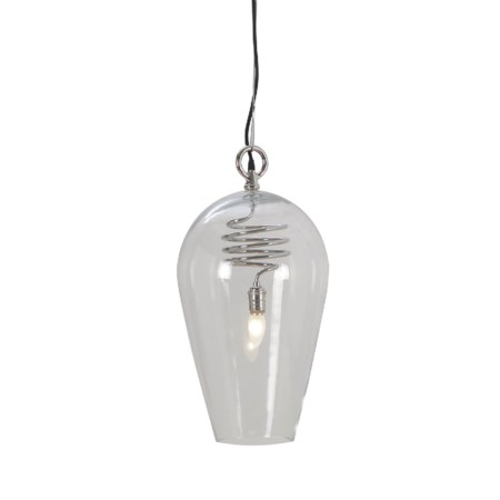 Brando Pendant - Large / Stainless Steel / 120v US
