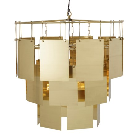 Marilyn Chandelier - Large / Brass / 120v US