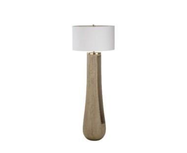 Gray Floor Lamp