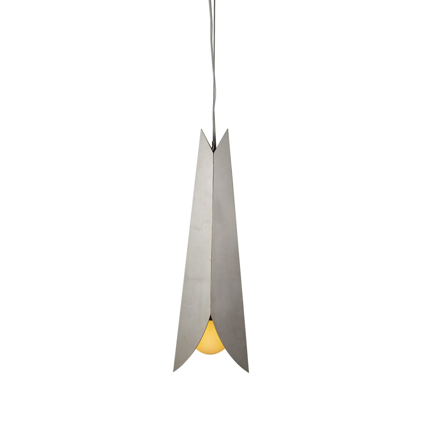 Barnie Pendant Large - Polished Stainless Steel