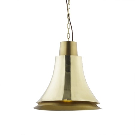 Bell Pendant - Polished Brass / 120v US