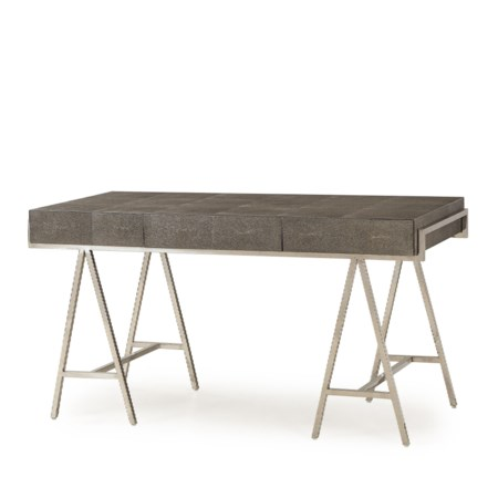 Sampson Desk - Charcoal Shagreen