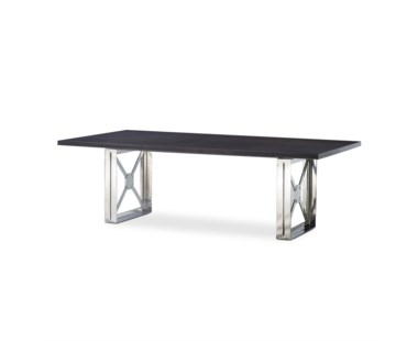 Girder Table Large - Grey Lacquer Top