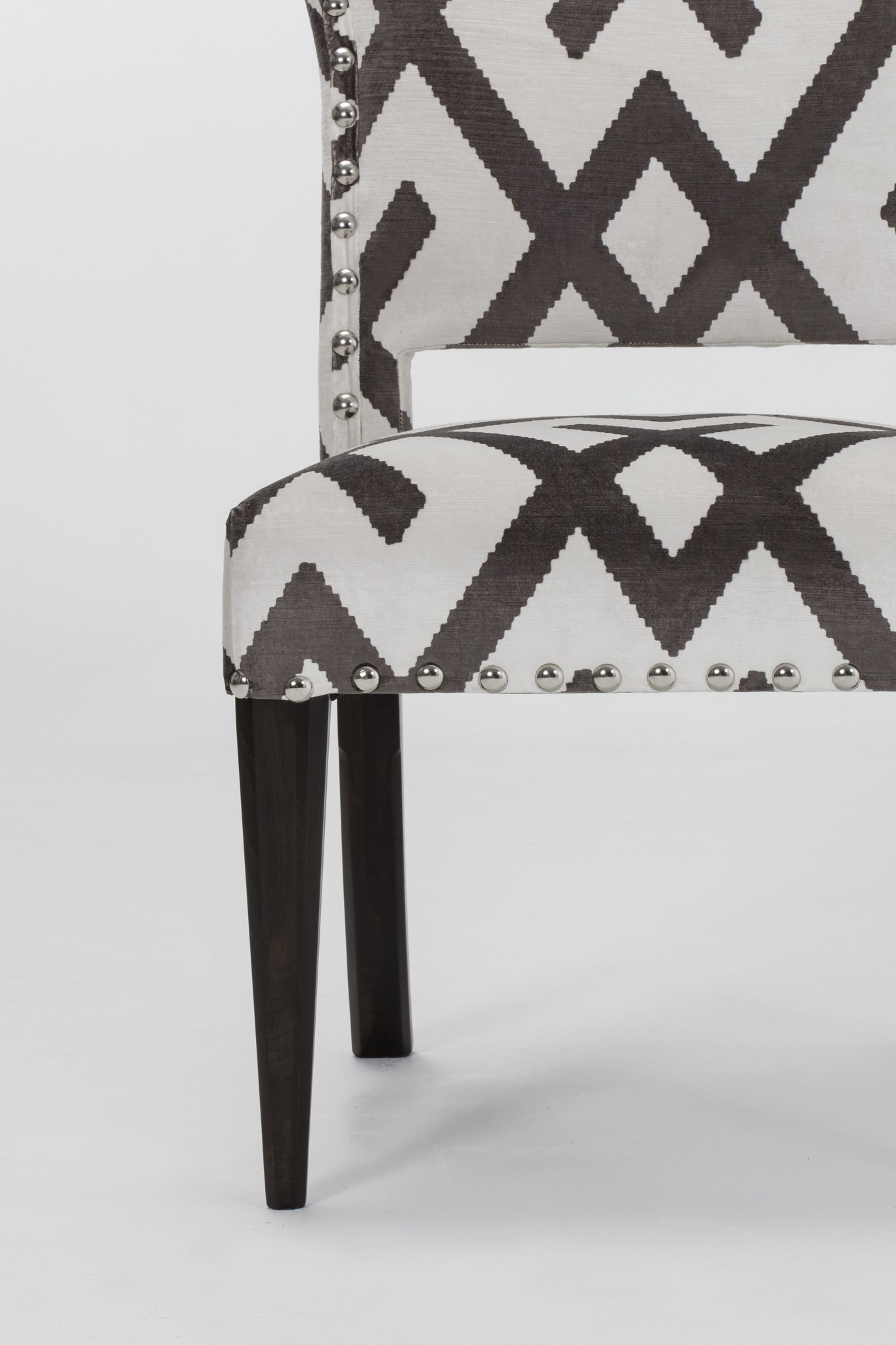 Bacall Chair   Fitzroy Grey