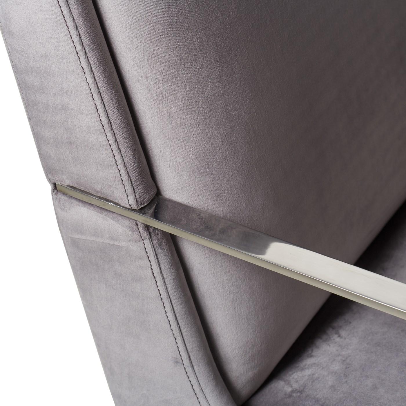 Lowry Dining Arm Chair - Victor Smoke