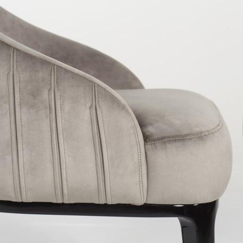 Cersie Dining Chair - Harry Velvet Storm