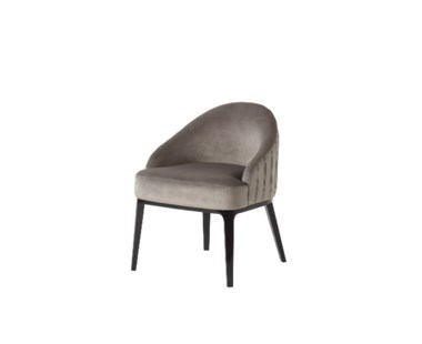 Cersie Dining Chair - Harry Velvet Storm