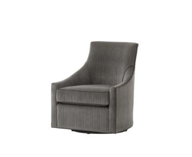 Fraser Swivel Chair - Vienna Graphite