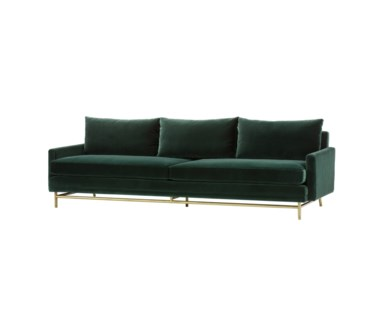 Jasper Sofa - Vadit Emerald Green / Large