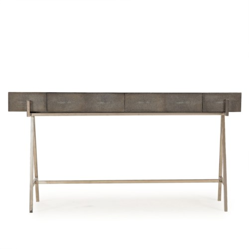 Sensational Sampson Console Table Charcoal Shagreen Console Tables Squirreltailoven Fun Painted Chair Ideas Images Squirreltailovenorg