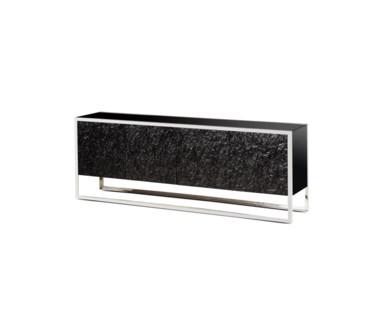 Dexter 4 Door Sideboard - Stainless Steel