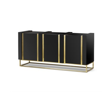 DeLuxe 3 Door Sideboard