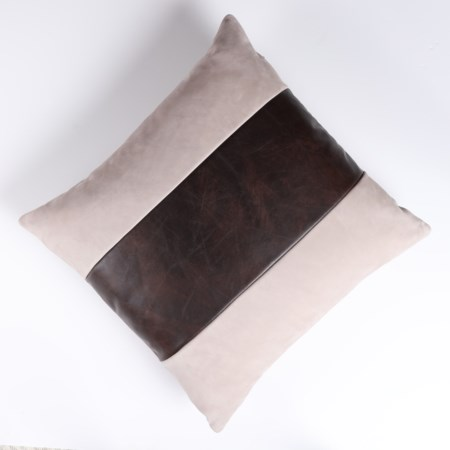 Throw Pillow - 56 x 56, Finley Beige body