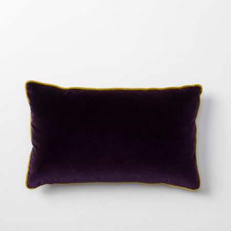 Vadit Deep Purple Throw Pillow - 53 x 53