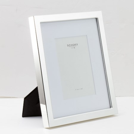 0.75' Stainless Steel Photo Frame - 5' x 7'