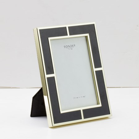 Black Gold Brass Frame  - 4' x 6'