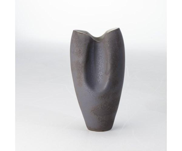 Pinch Vase - Matte Grey - Large