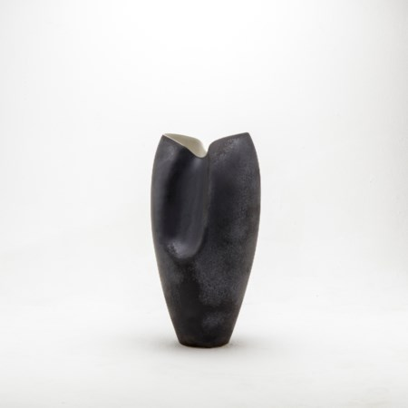 Pinch Vase Matte Grey - Small