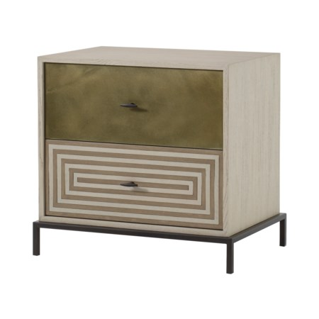 Maria Nightstand - 2 Drawer / Small