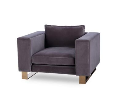 Monet Arm Chair - Rose Gold - Grade 1