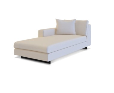 Ian Chaise Lounge - Left Arm Facing