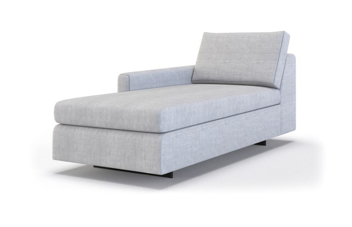 Ian Classic Chaise Lounge - Left Arm Facing