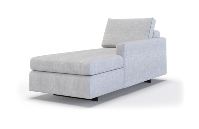Ian Classic Chaise Lounge - Right Arm Facing