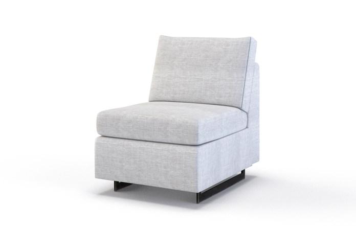 Ian Petite Armless Chair