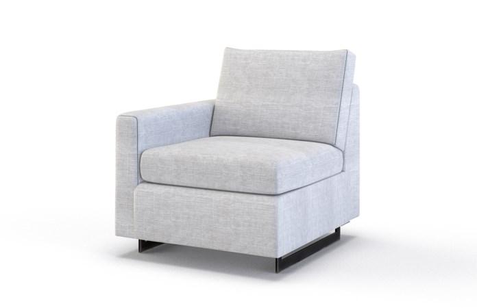 Ian Petite Chair - Left Arm Facing