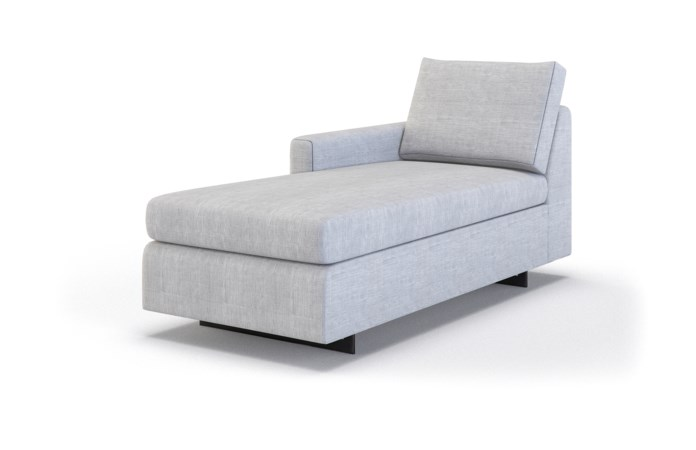 Ian Petite Chaise Lounge - Left Arm Facing