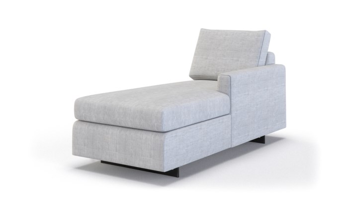 Ian Petite Chaise Lounge - Right Arm Facing