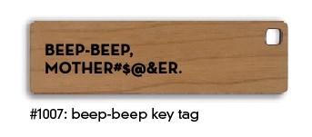 Beep-Beep Key Tag