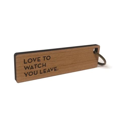 Leave Key Tag