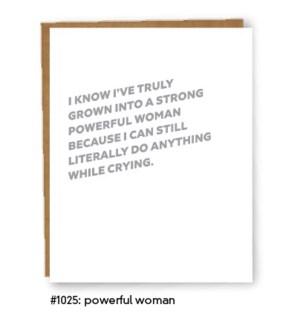 Self-Care_Powerful Woman Card