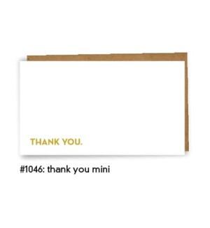 Thank You Mini  Card