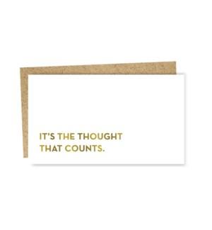 Mini card thought