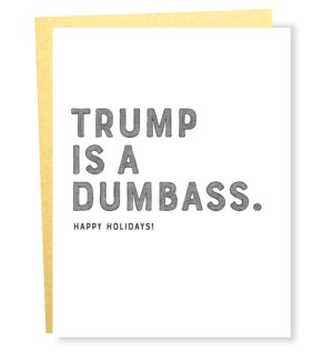 Card forty five trump dumbass gold env