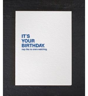 Make a wish birthday nap