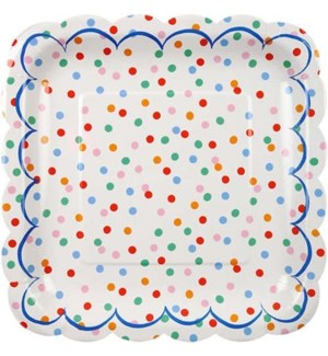 Toot Sweet Spotty Large Plate-45-0839
