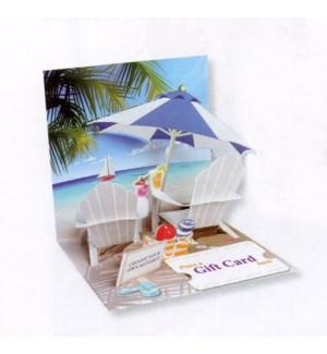 Tropical Beach Gift Card