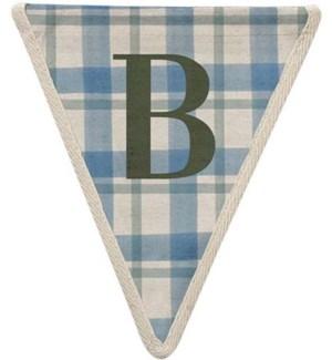 Checked B Pennant-99-B2