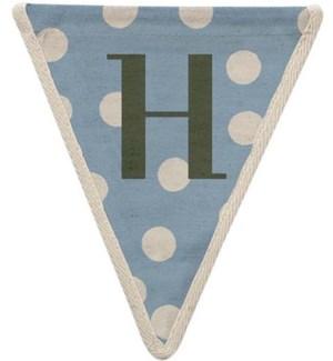 Spotty H Pennant-99-H2