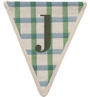 Checked J Pennant-99-J2