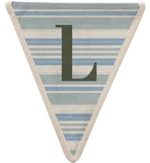 Striped L Pennant-99-L1