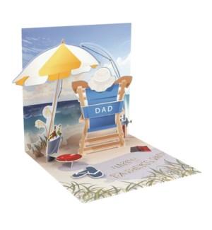 Beach Day Dad
