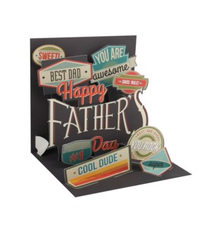 Father'S Day Badges