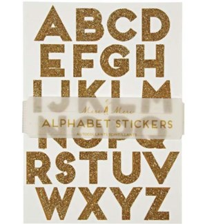 Gold Alphabet Stickers-45-1036