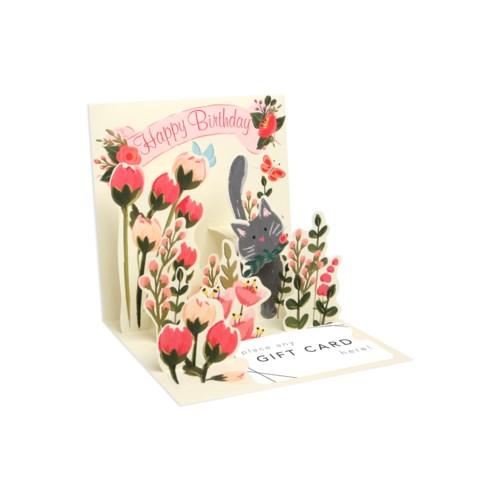 Botanical Cat Gift Card