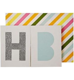 Happy Birthday Banner Card-16-0065H